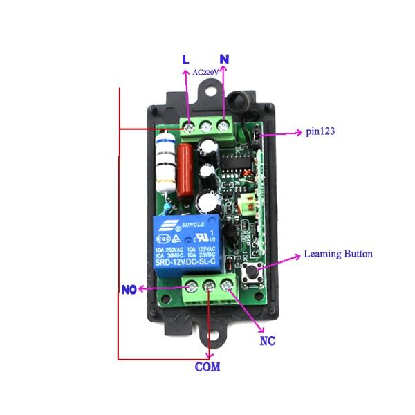Interruptores e Relés de luz casa inteligente Distância Remota : 0-200m