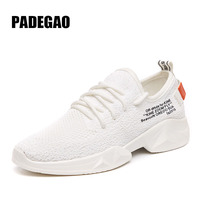 PADEGAO Outdoor Breathable Mesh Sports Run Shoes High quality Mesh Sport Shoes For Women Super Ligh Comfortably Walking Shoes