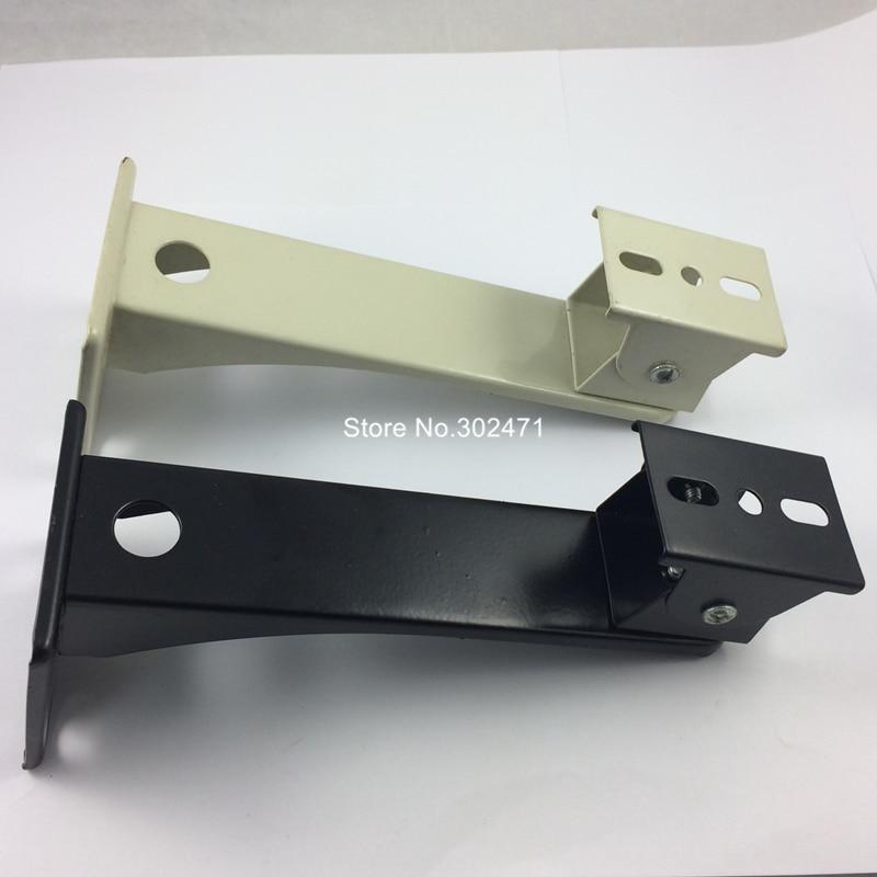2 шт./лот настенное крепление или кронштейн для CCTV DVR камера кронштейн для камеры видеонаблюдения черный