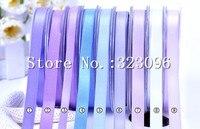 100 Yards Roll 9mm Single Face Satin Ribbon Webbing Decaration Gift Christmas Ribbons 196Ccolors Available