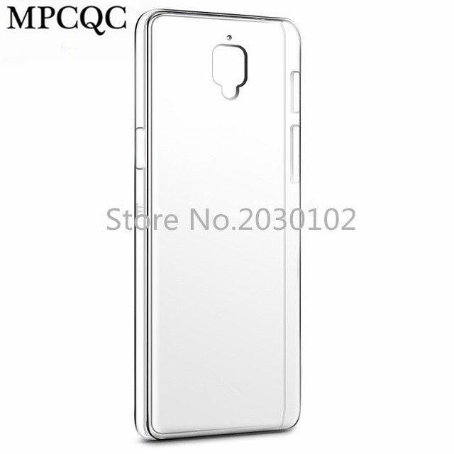 MPCQC For Oneplus 3 Transparent TPU Oneplus Three Soft Flexible Ultra Slim Crystal Clear Silicone Phone Back Cover Shell Fundas