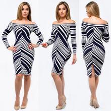 women's strip dresses  2016 summer new sexy strapless woman dress off shoulder midi bodycon dresses