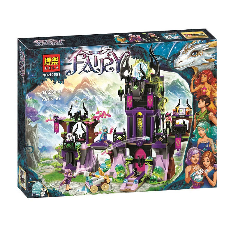 Bela Elves Ragana's Magic Shadow Castle Building Kit Compatible <font><b>Legoingly</b></font> <font><b>41180</b></font> Bricks Toys For Children (1023 Piece) image