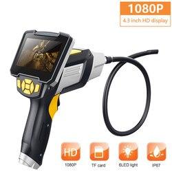 4.3 pouces écran oreille cuillère Endoscope Endoscope 1080p ABS 8mm étanche Photos surveillance Inspection en temps réel vidéo Inskam
