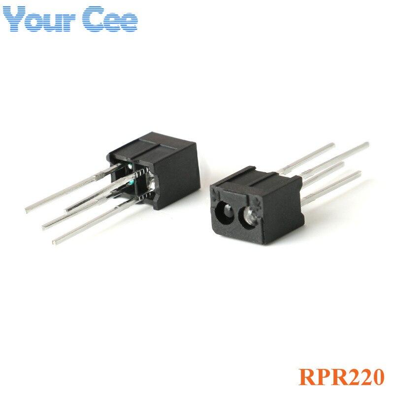 10PCS RPR220 Reflective Opto Sensor Photoelectric Switch Sensor NEW