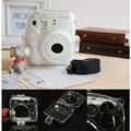 Transparent Protective Shell Case Cover Bag Camera Pastic Case for Fuji Fujifilm Instax Mini 8 Camera (Case Only)