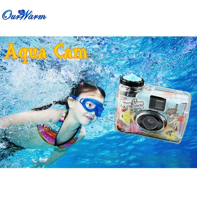 35mm Disposable Waterproof Aqua Cam Underwater Camera