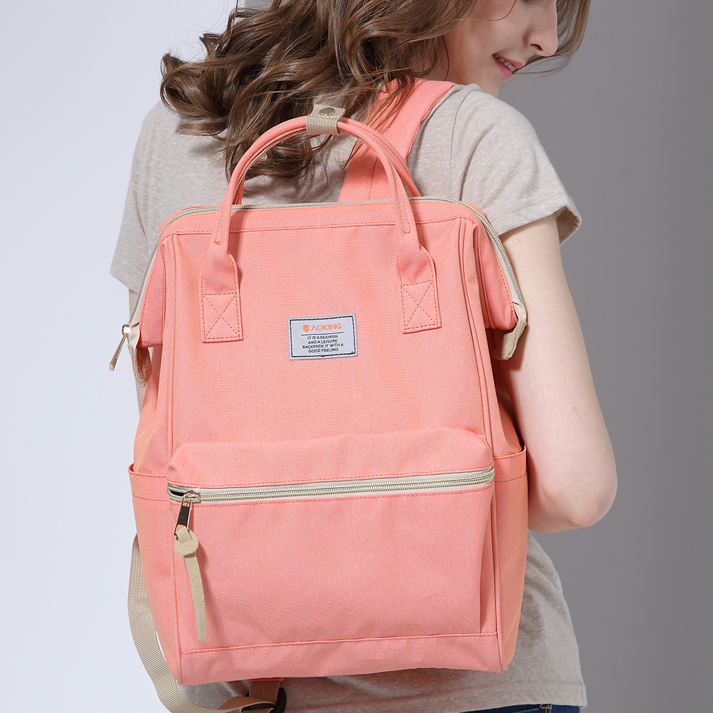 laptop nylon mochila verão com Handle/strap Tipo : Soft Handle