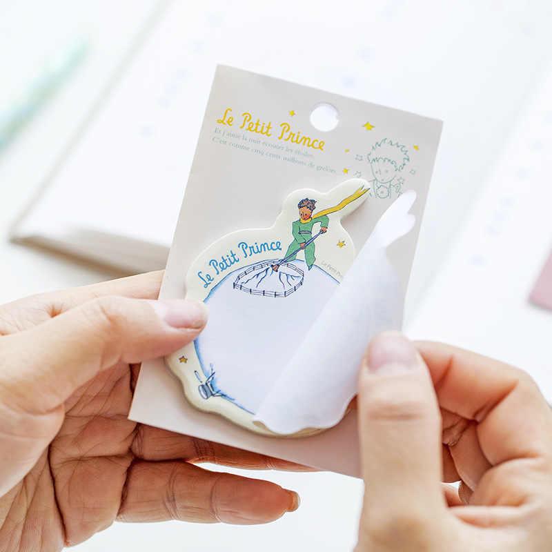 6 шт./партия креативные Le Petit Prince Липкие заметки милые Мультяшные бумажные блокноты для заметок почтовые стикеры школьные офисные канцелярские принадлежности