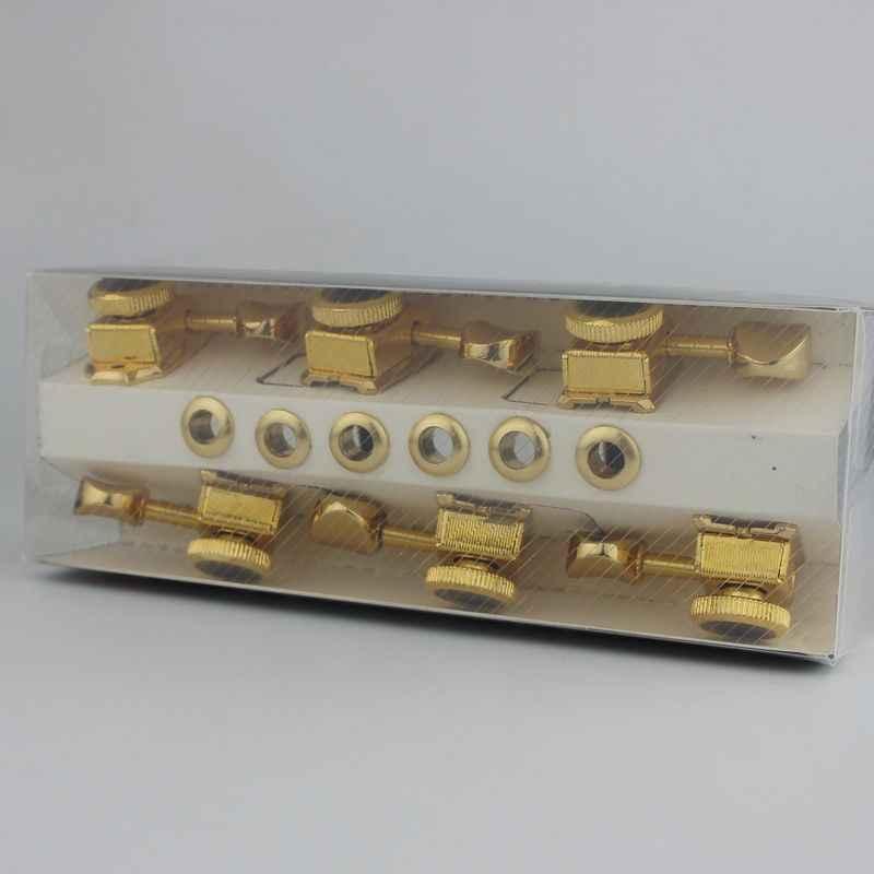 GUYKER Vintage or serrure chaîne accordeurs guitare électrique Machine têtes accordeurs pour ST TL guitare réglage chevilles