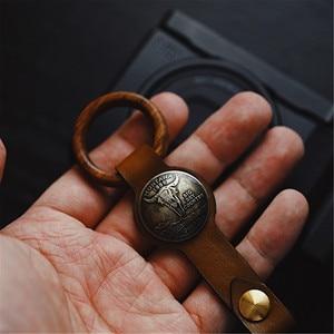 Image 1 - Handmade Leather Camera Wrist Hand Strap For Ricoh Leica Fuji Sony Olympus Canon Nikon Mirrorless Camera