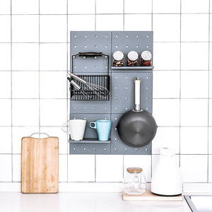 Image 1 - Wall Mounted Plastic Storage Rack Home decora Kitchen Toilets Wall Shelf Elegant Rack Fashion Simple Display Storage
