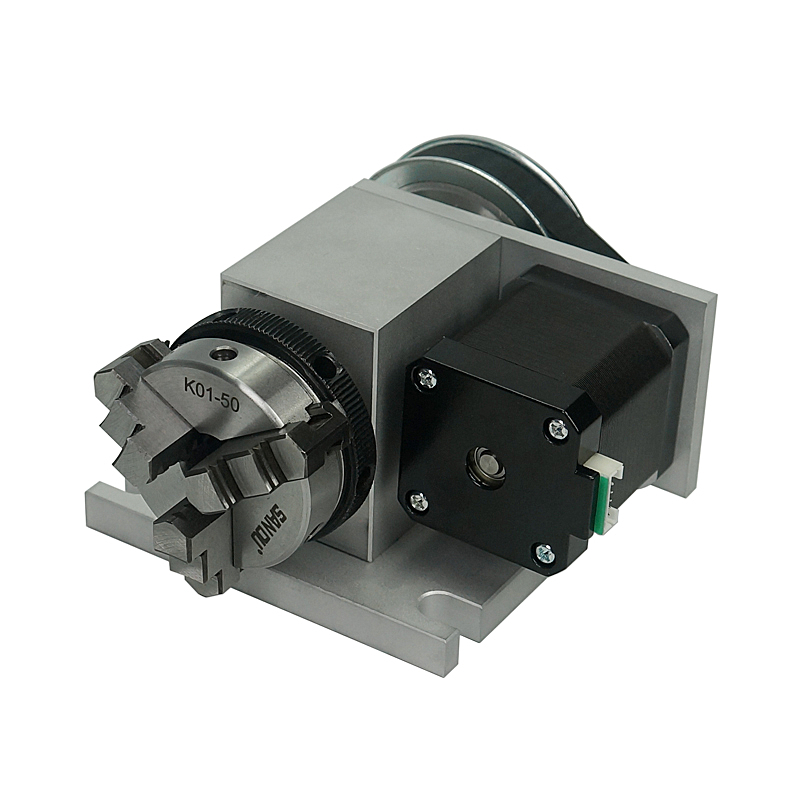 Rotary Axis A B 4th  For DIY Cnc Frame Router Machine Chuck 50mm 3D JIG