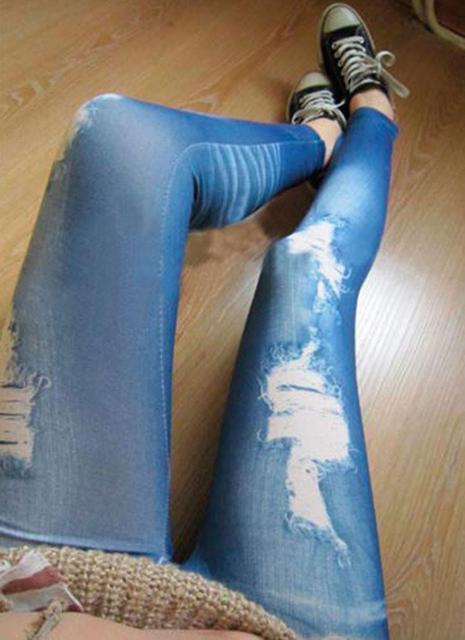 Skinny Slim Distressed Stretchy Jean 6