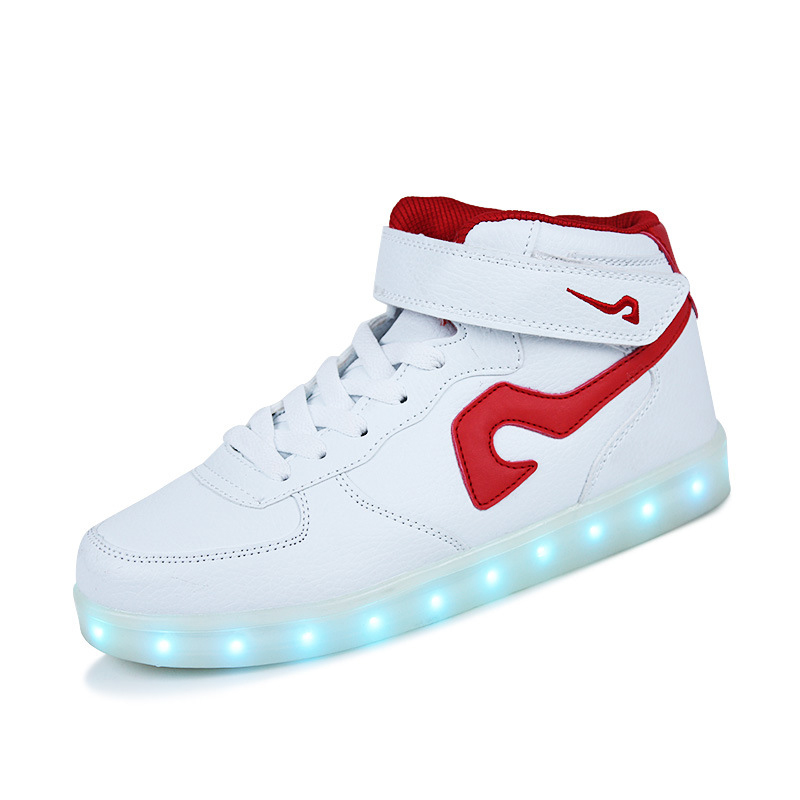 Discreet Sytat Luminous Led Shoes 2017 Emitting Casual Shoes Men Lovers Led Lighted Chaussure Unisex Usb Charging Glowing Led Shoes Men's Shoes Men's Casual Shoes