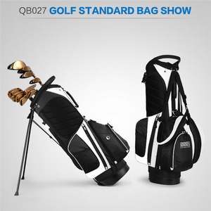 Image 4 - Pgm Portable Golf Stand Bag Golf Bags Men Women Waterproof Golf Club Set Bag With Stand 14 Sockets Outdoor Sport Cover Bag D0069