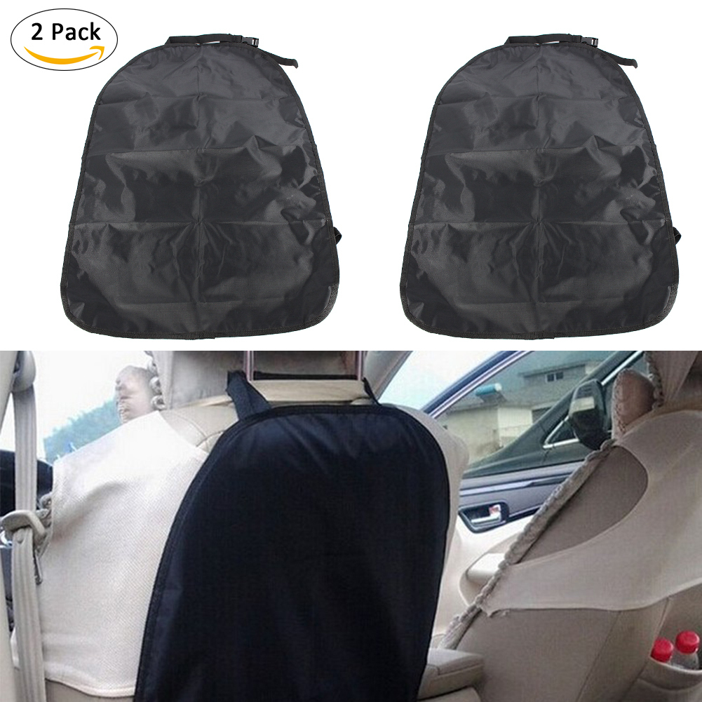2 PCS Car Children Seat Anti-Kick Seat Back Covers Car Seat Protector Waterproof Protection From Dirt Mud Scratches