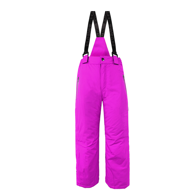 a94f0d9e6 Children suspender ski pants girls skiing snowboarding bib pants ...