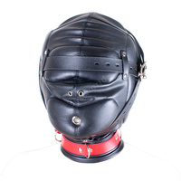 Fantasy Soft Leather Horse Hoods Masks Sex Products Fetish Head Harness Bondage Hood Restraints Cosplay Slave