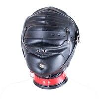 Fantasy Soft Leather Horse Hoods Masks Sex Products Fetish Head Harness Bondage Hood Restraints Cosplay Slave Mask Sex Toys