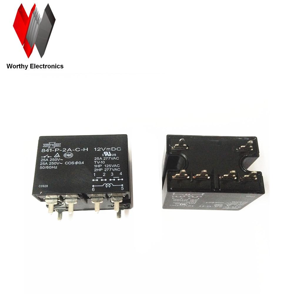 wholesale 10pcs lot relay 841 P 2A C H 12VDC