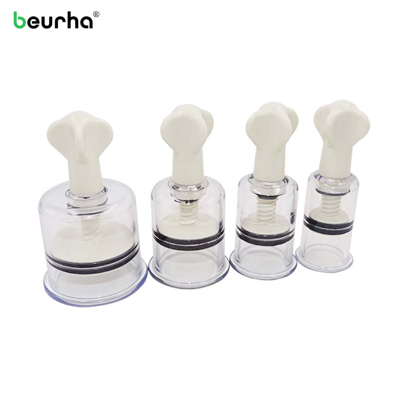 Buy 1 PC Twist Suction Cupping Cup Nipple Enhancer Massage Cans Vacuum Fetish Enlarger Suction Body Relaxation Healthy Health Care