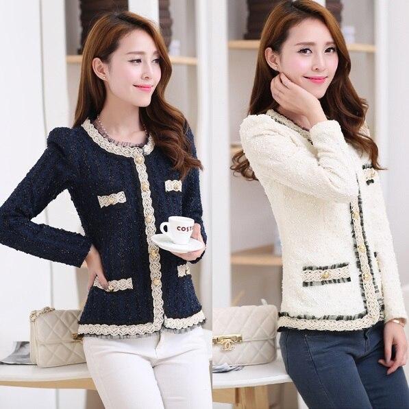 2017 New Blazer Women Paillette Formal Blaser Jacket For Woman Work Wear Plus Size Lady Coat Suits Top Tunic White,black S~xxl