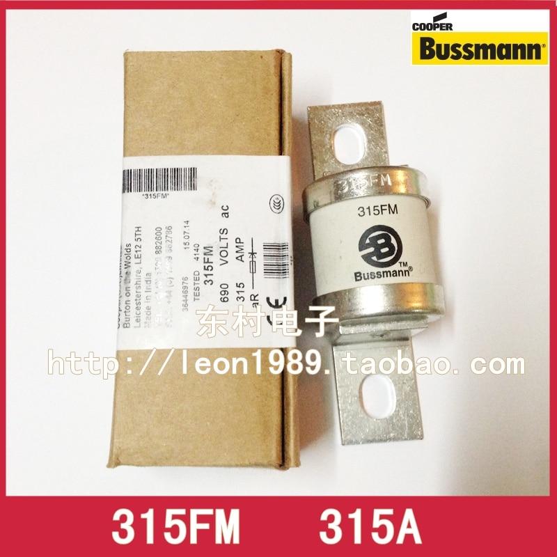 US BUSSMANN fuse BS88: 4 fuses 315FM 315A 690V 700V 315AMP
