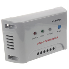 Solar Charge Controller Regulator New MPPT 12V 24V Autoswitch Solar Panel 30A colour white стоимость