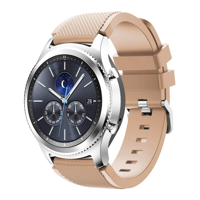 OTOKY Watchbands Fashion Sports Silicone Bracelet Strap Band For Samsung Gear S3 Classic Sporting Goods Accessories цена