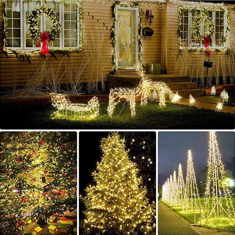 Ornament - Solar LED copper light