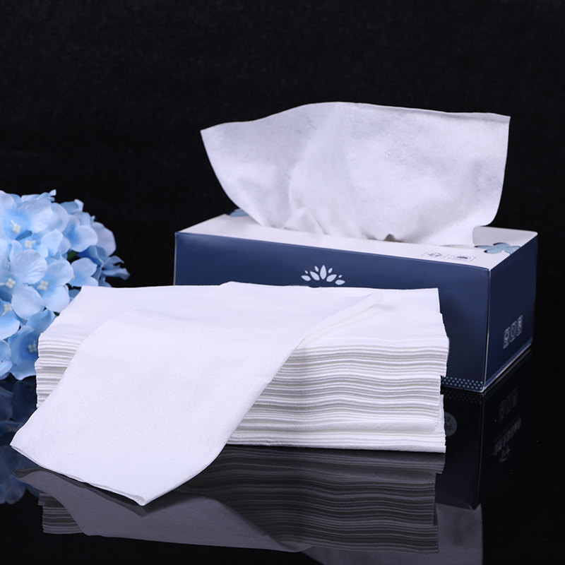 80 Pcs/Box Makeup Dual Use Facial Cosmetics Cotton Pads Wet
