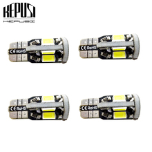4X T10 LED Car Light Canbus 194 W5W Auto Bulbs Styling White For Hyundai ix35 elantra solaris creta i20 getz tucson