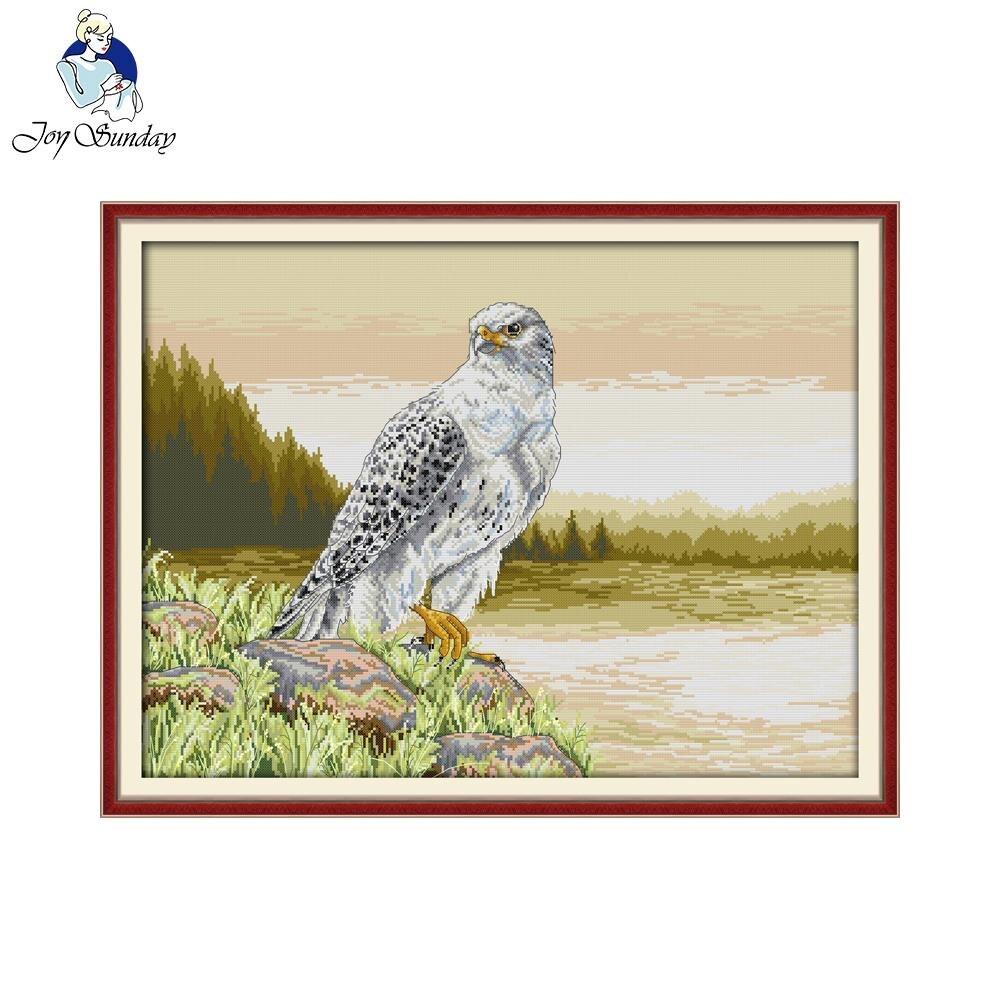 ツ)_/¯Alegría Domingo estilo animal Falcon moderno Cruz puntada ...