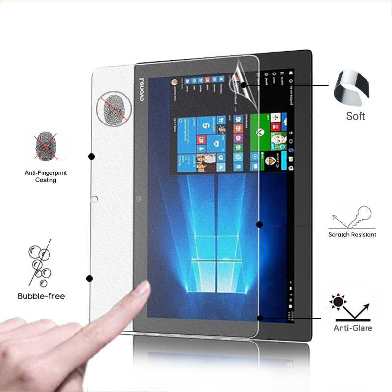 Premium Anti-Glare screen protector matte film For Lenovo MIIX 5 Miix 510 12.2 tablet anti-fingerprint screen protective films ynmiwei for miix 320 tablet keyboard case for lenovo ideapad miix 320 10 1 leather cover cases wallet case hand holder films