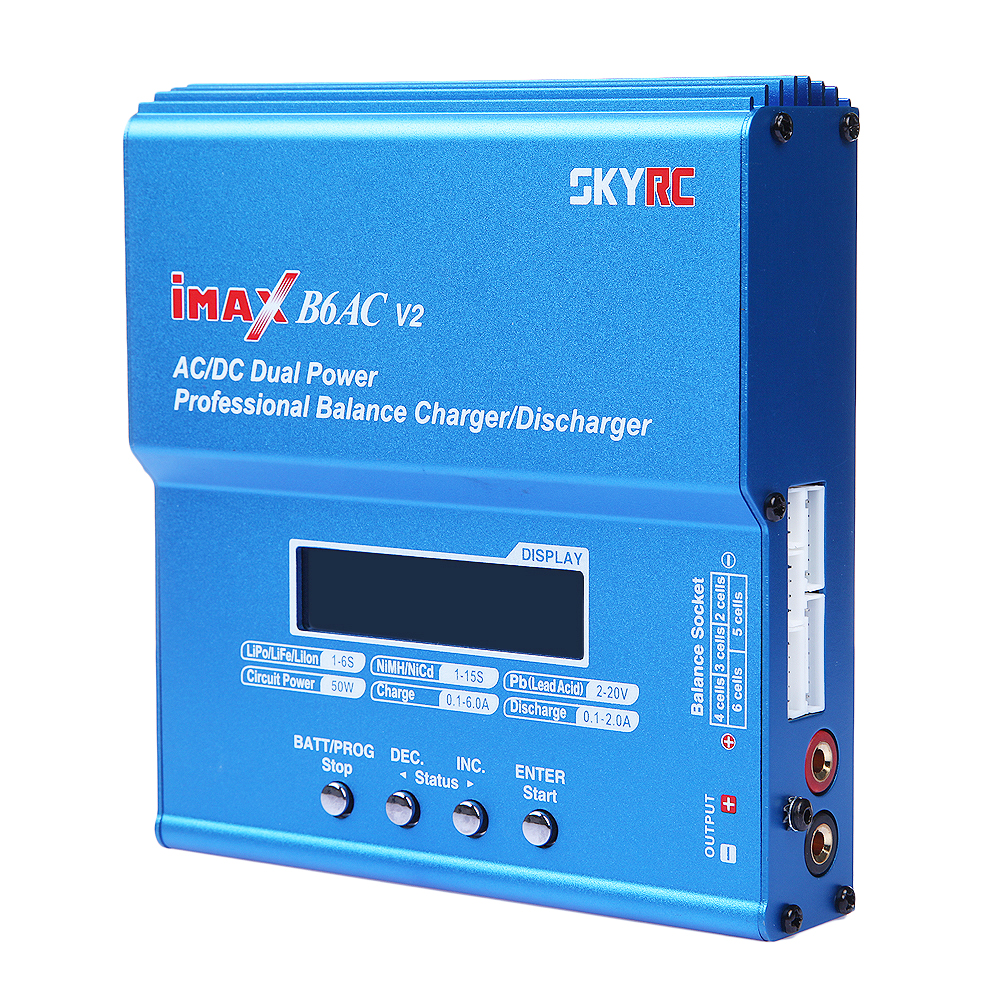 Original Skyrc Imax B6ac V2 6a Lipo Battery Balance Charger Lcd Professional Mini Likewise Balancer Circuit Display Discharger For Rc Model Charging Re Peak Mode On Alibaba