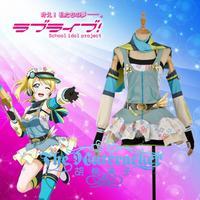 [Customize]2018 Anime Love Live Eli AyaseEllie Crayon/Painter Awakening Cosplay Costume XS XXL For Wome Halloween Free Shipping