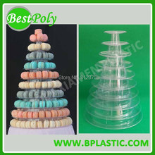1 Set 10 tiers Beautiful Macaron Pyramid tower Macaron Tree for wedding or party