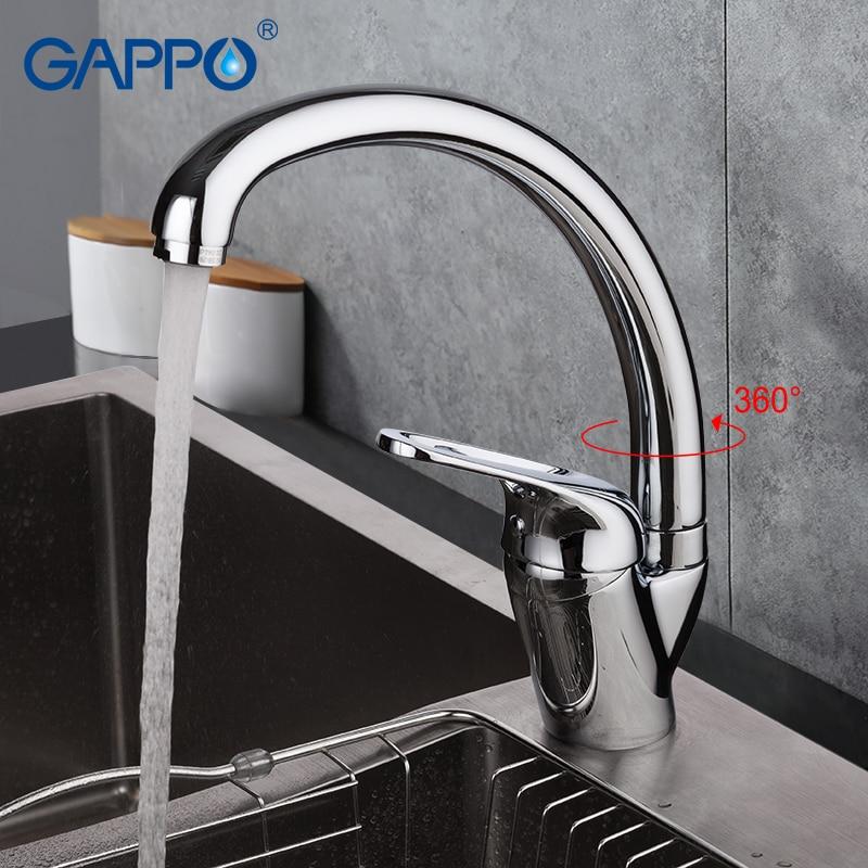 цены на GAPPO kitchen faucet water mixer tap brass kitchen mixer faucet sink faucet tap water mixer crane torneira de cozinha в интернет-магазинах