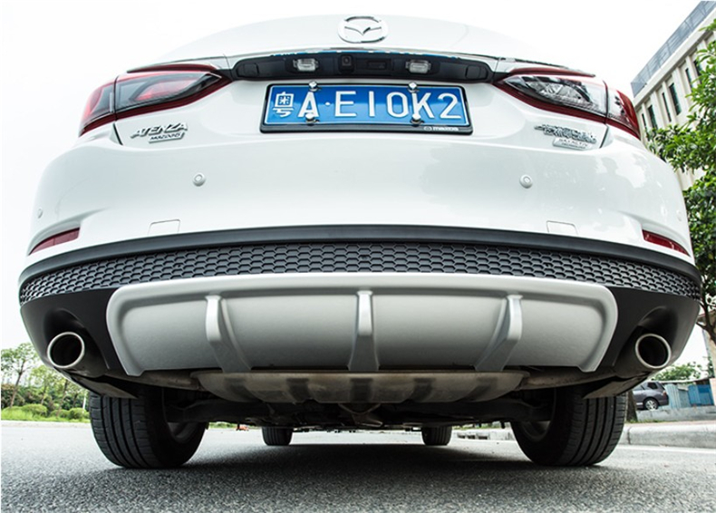 Car Rear Lip Spoiler For Mazda 6 ATENZA 2017.2018 Bumper Diffuser Auto Accessories