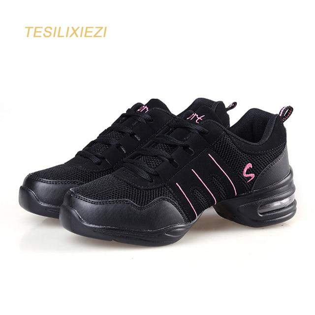 Nuevos zapatos de baile Jazz Hip Hop zapatos salsa zapatillas para mujer  plataforma baile zapatos de 171c5c3ba49