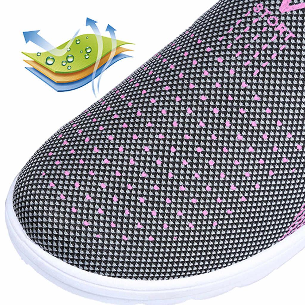 Kadınlar gündelik ayakkabı tenis feminino sneaker kadın tenis feminino nefes kadın geçme ayakkabı zapato mujer #3