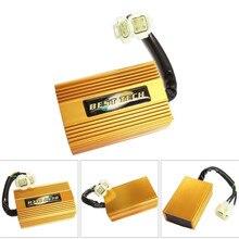 6-pin DC воспламенитель Золотой гоночный CDI высокая производительность для GY6 50CC 125CC 150CC