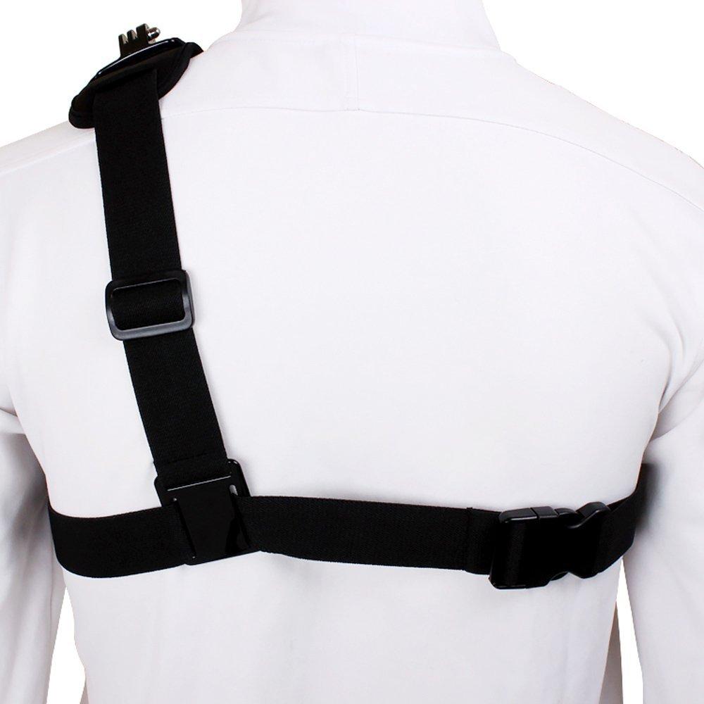 Brust Schultergurt für Gopro Hero 6 5 4 Zubehör Xiaomi Yi 4K Mount - Kamera und Foto - Foto 4