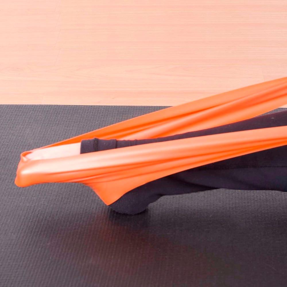 Yoga-Ausdehnungs-Eignungs-Widerstand-Bänder Pilates, das Latexband - Fitness und Bodybuilding - Foto 6