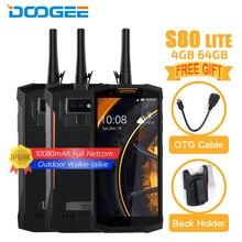 DOOGEE S80 Lite IP68 Водонепроницаемый мобильный телефон 5,99 «4 GB + 64 GB Helio P23 Octa Core Android 8,1 10080 mAh 13MP Камера NFC Смартфон