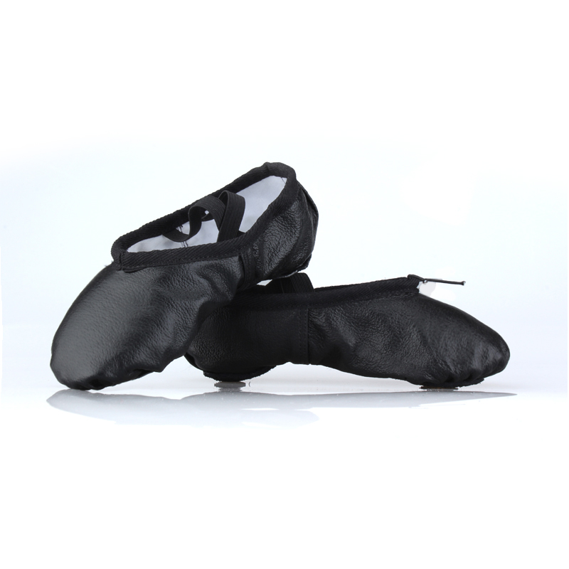 TIE JIAN Ballet shoes leather soft bottom shoes adult children cat claw Yoga Kungfu shoes