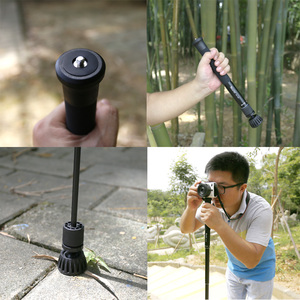 Image 5 - XILETU XM 256 47.8 بوصة Monopod مفيد ترايبود Monopod Selfie عصا القطب ل DSLR كاميرا كاميرا الهاتف الذكي مرآة بدون مرآة
