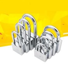 цена на Stainless Steel 304 Same key Open all Padlock Cabinet Outdoor Lock Head Furniture Lock Waterproof Rust-Proof Door Lock