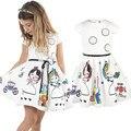 Девушки одеваются лето детская одежда бренда девушки платье мультфильм детская одежда для принцессы праздник ну вечеринку свадебные малыш